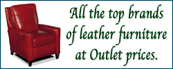 Best prices on all the top leather furniture brands
