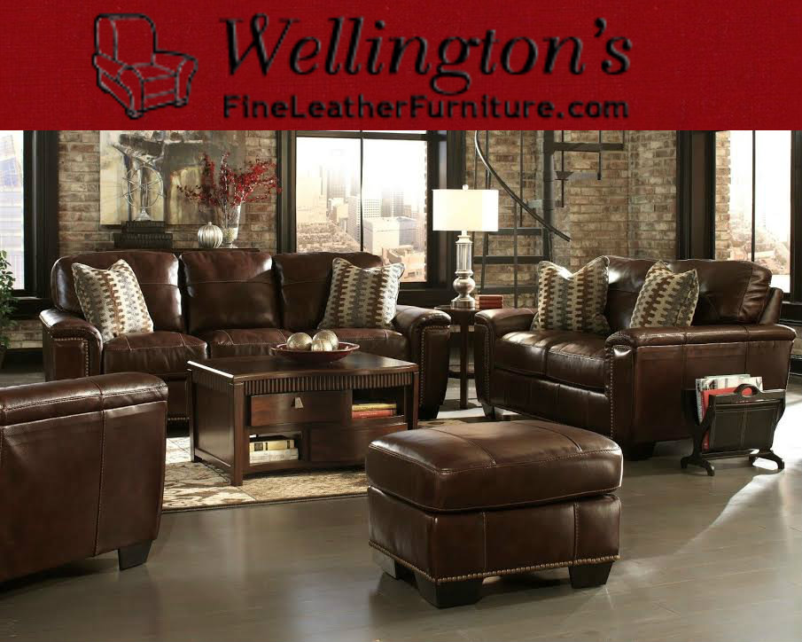 Companies Like Wellingtonu0027s Leather Furniture Promote American Made Leather  Furniture From Many Of Americas Top Furniture Brands.