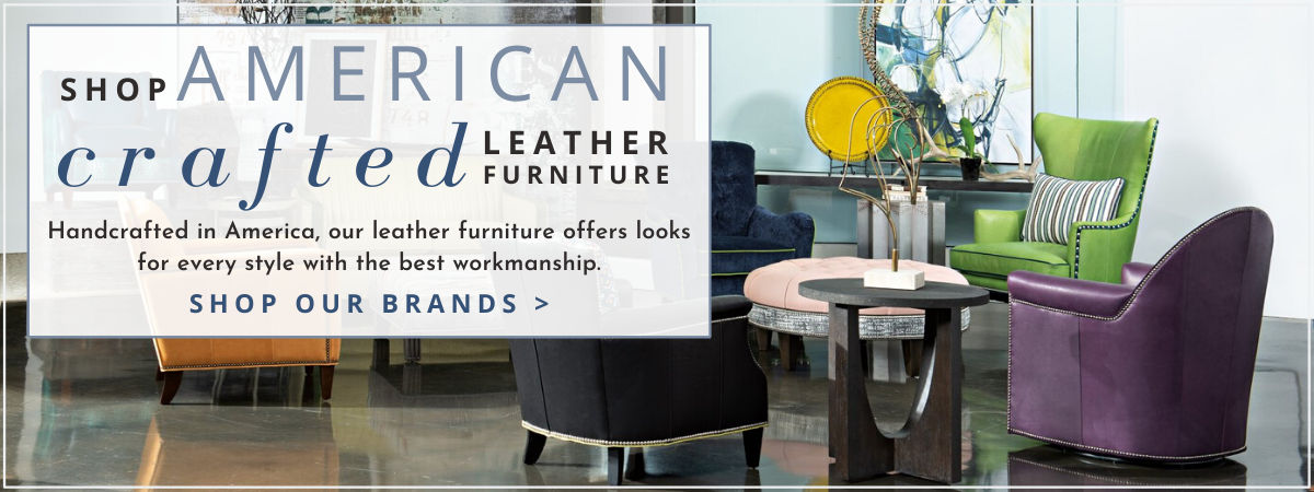 Made in the U.S.A. Leather Furniture
