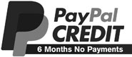 PayPal Credit - 6 Months No Payments