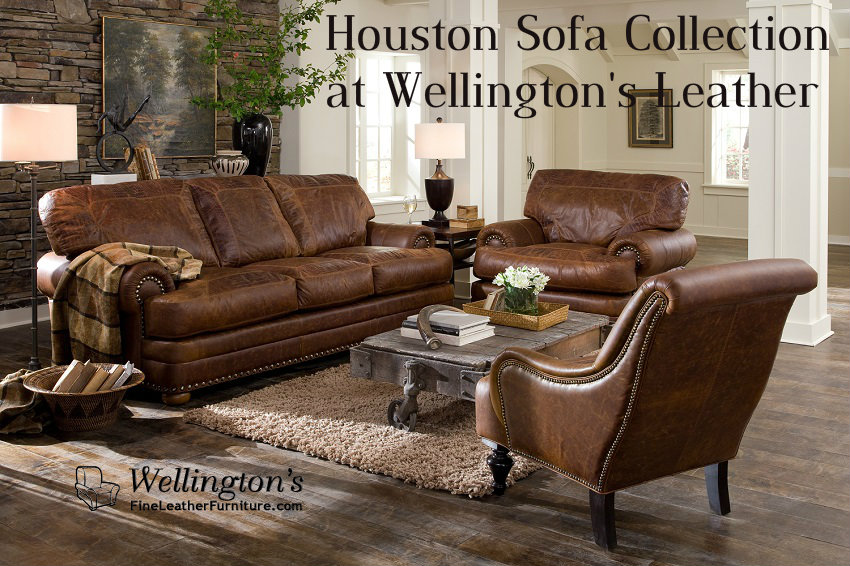Charming Houston Leather Sofa Amazing Ideas