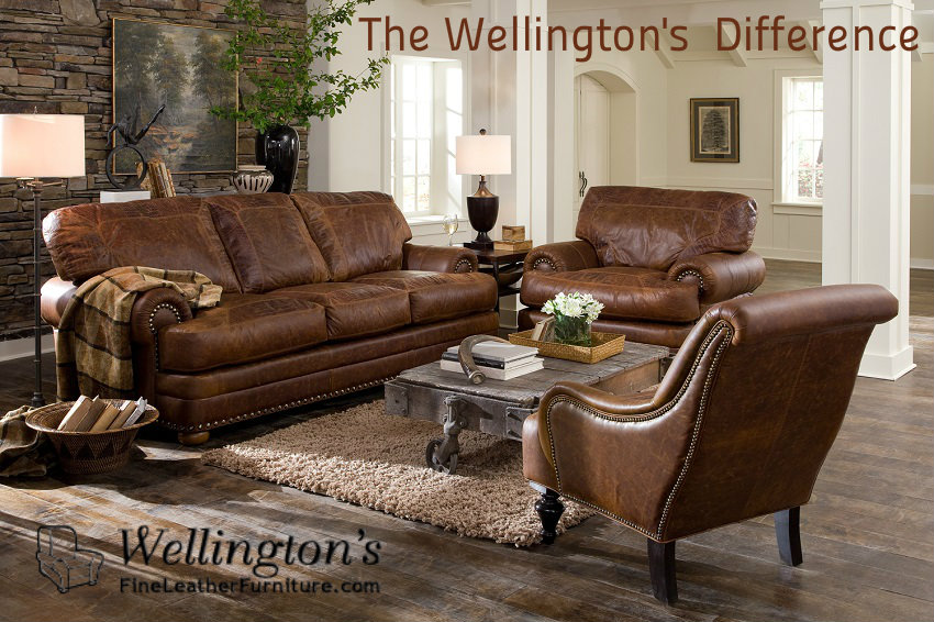 Amazing The Wellingtonu0027s Fine Leather Furniture Difference