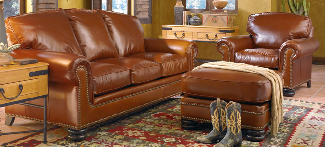 Leather Sofas And Loveseats