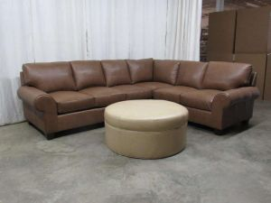 Washington Leather Sectional