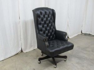 American Leather Executive Chair