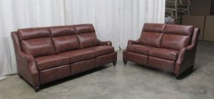 Abigail Reclining Leather Sofa