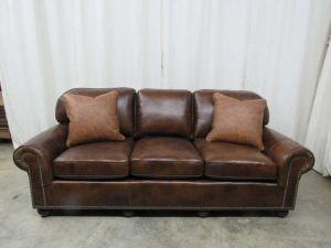 Senneca Leather Sofa