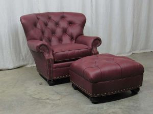 Elite Leather Tufted Chair