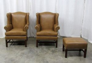 Coach Leather Chair