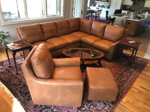 Breckenridge Leather Sectional