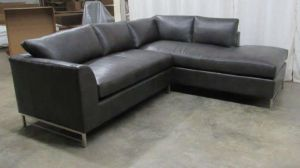 Ansley Leather Sectional