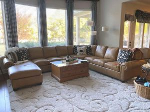 Stratton Leather Sectional