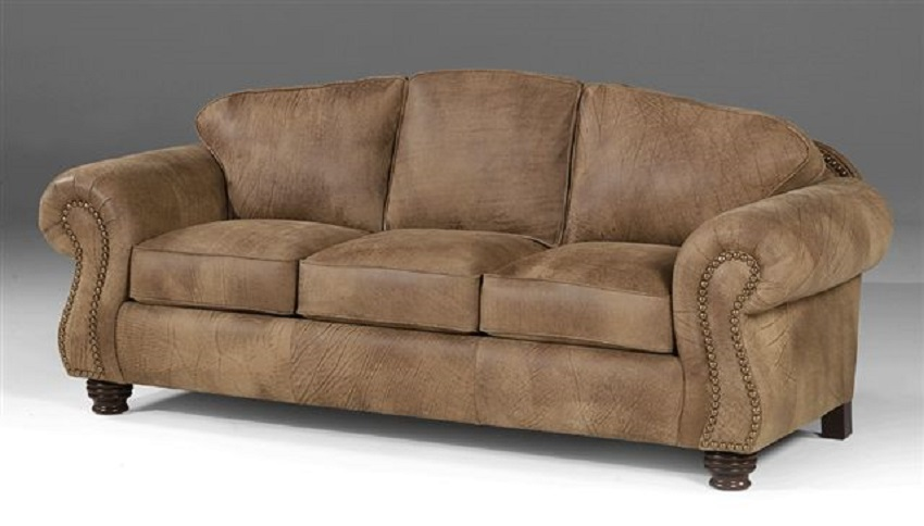 Carlson Leather Loveseat