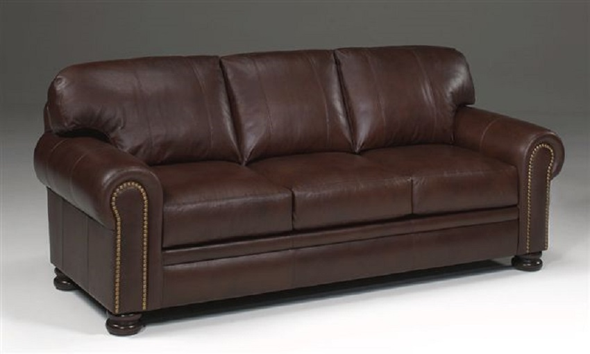 Becker Leather Sofa Sleeper