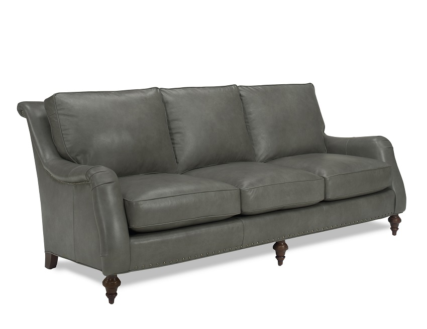 Wyatt Leather Sofa By Wellington S Heirloom Collection