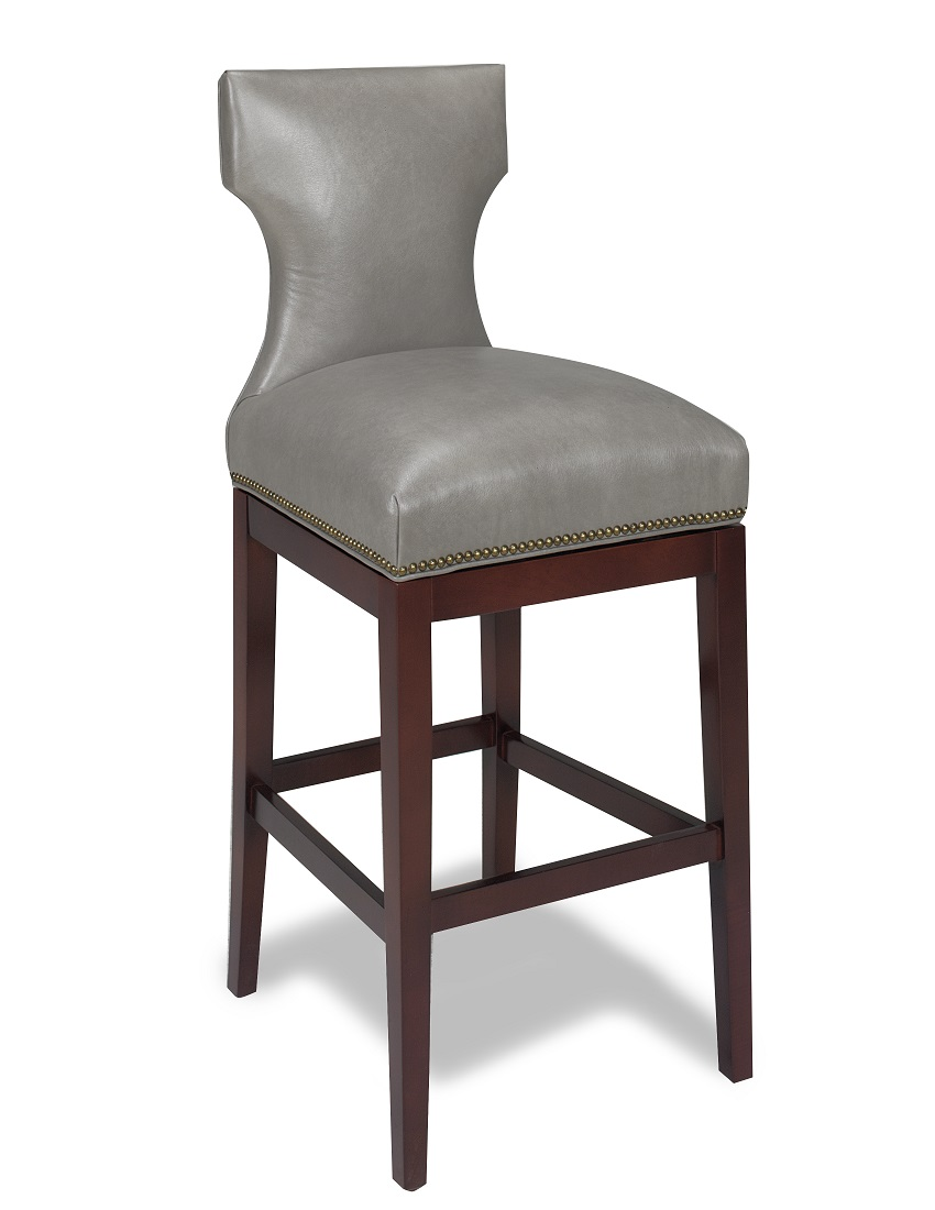 Leather Bar Stools ~ Leather bar stools karma swivel stool