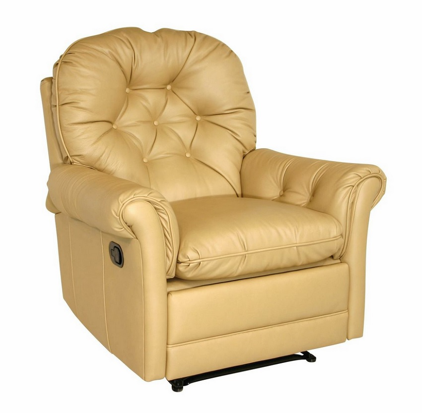 Wall Hugger Recliner Made By Classic Leather