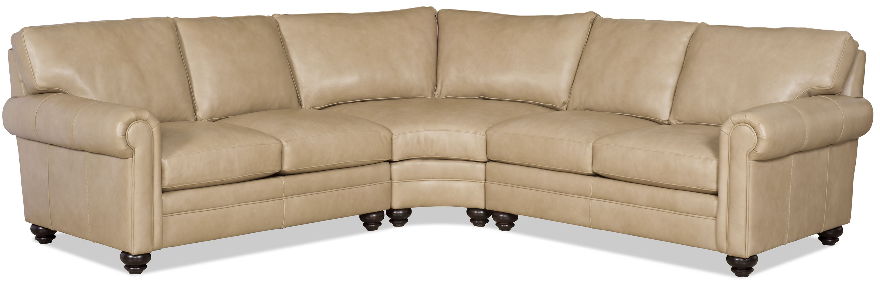 Daire Leather Sectional