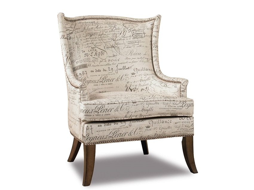 Chairs Paris Fabric Accent Chair
