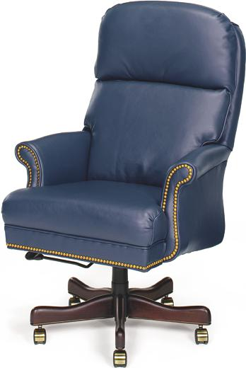 Bari Leather Swivel Executive Chair