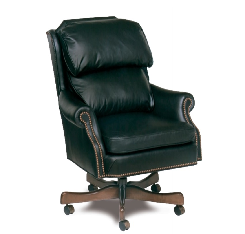 Leather Office Furniture Anthony Leather Swivel Tilt Chair