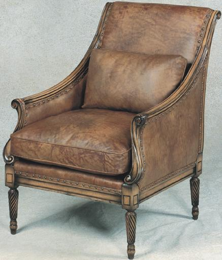 Leather Accent Chair New Orleans Leather Chair