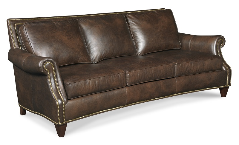 Bates Leather Loveseat
