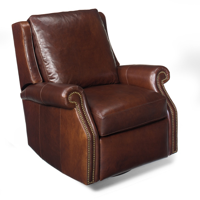 Barcelo Leather Recliner By Bradington Young