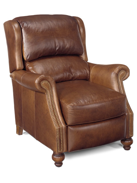 High Quality Leather Recliner With Or Without Power Option