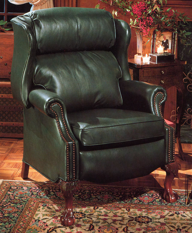 Best Leather Reclining Sofa Brands: High Quality Leather Recliner Maxwell By Bradington Young