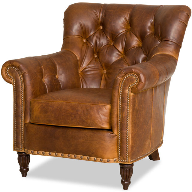 Charmant Kirby Leather Chair