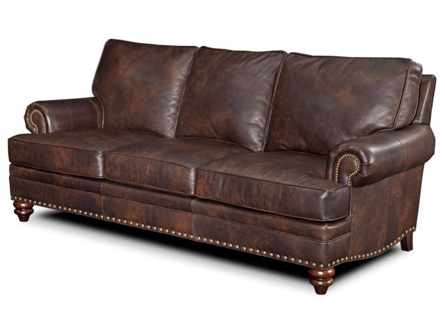 Carrado Leather Loveseat