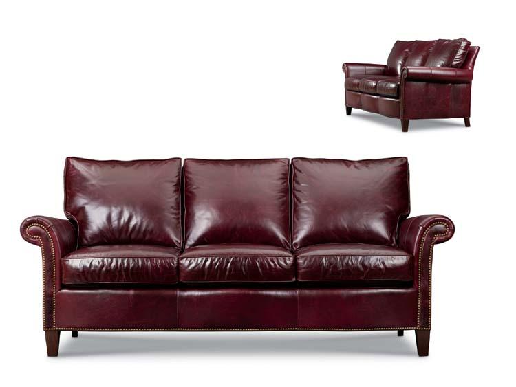Spokane Leather Sofa