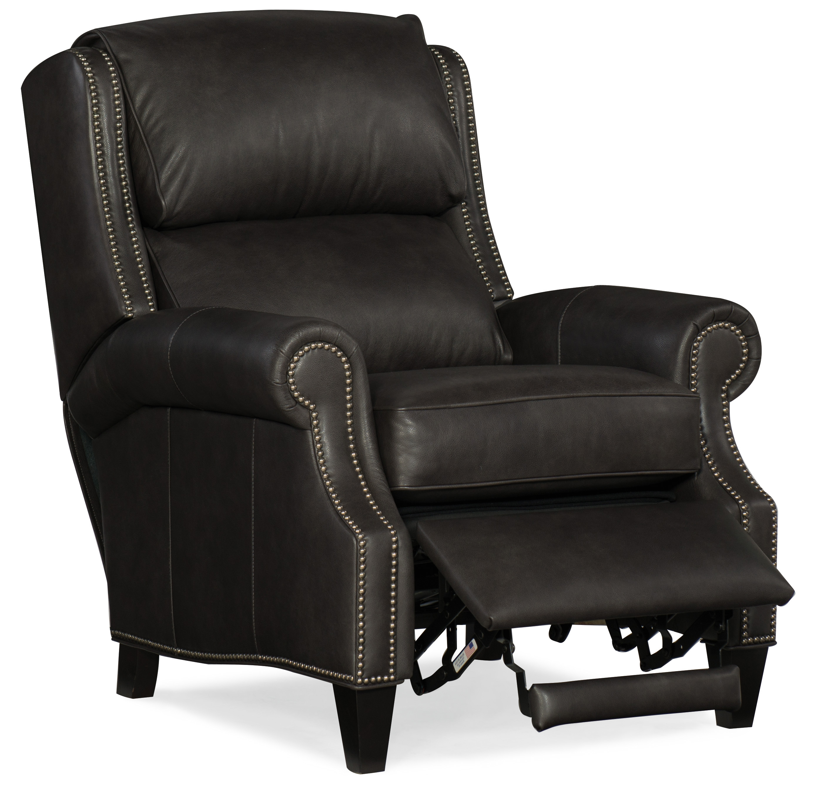 Huss Leather Recliner On Sale By Bradington Young