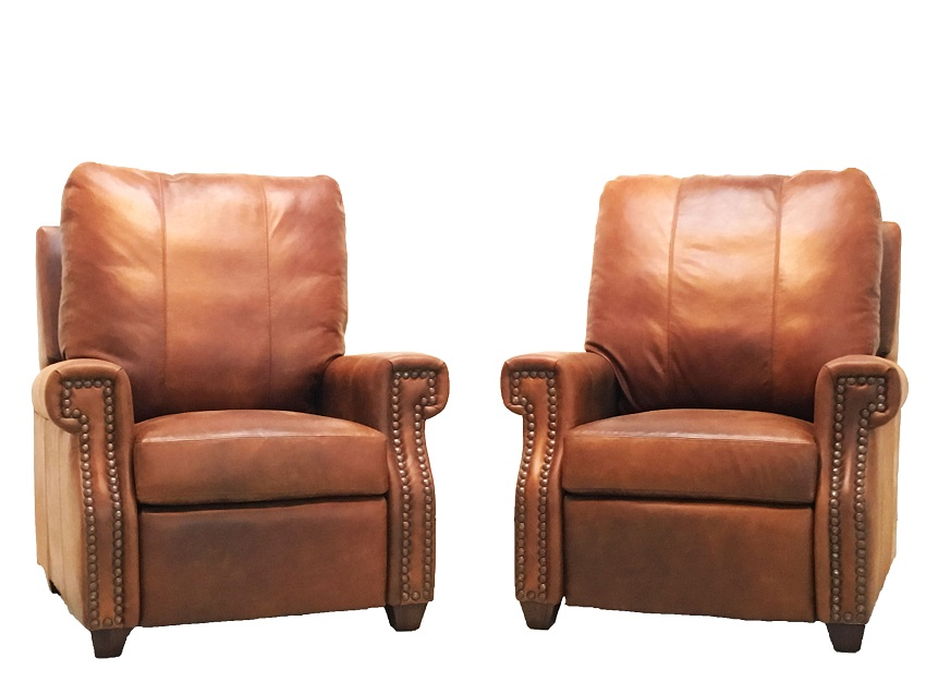 Empire Leather Recliner By American Tradition