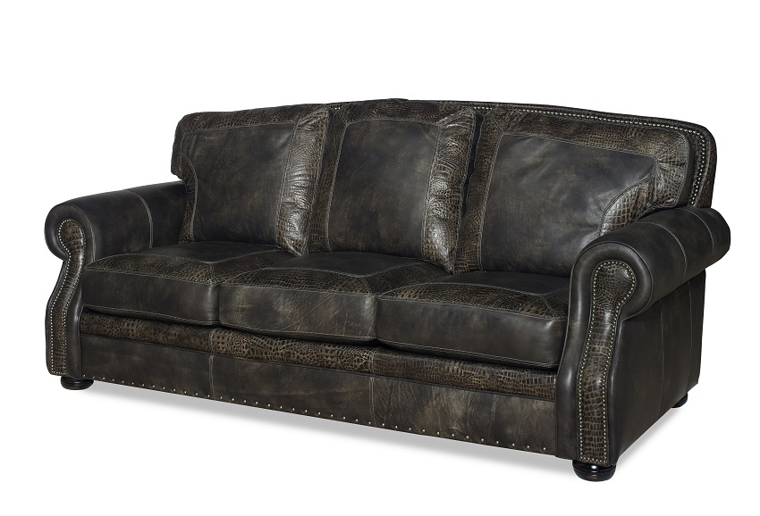Sundance Leather Loveseat