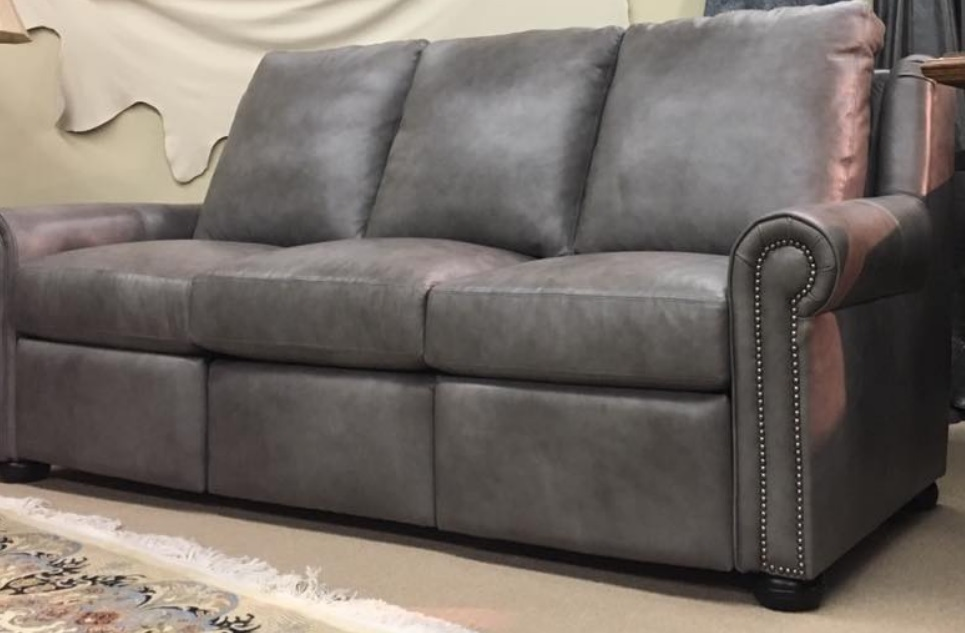 High Quality Leather Reclining Sofa