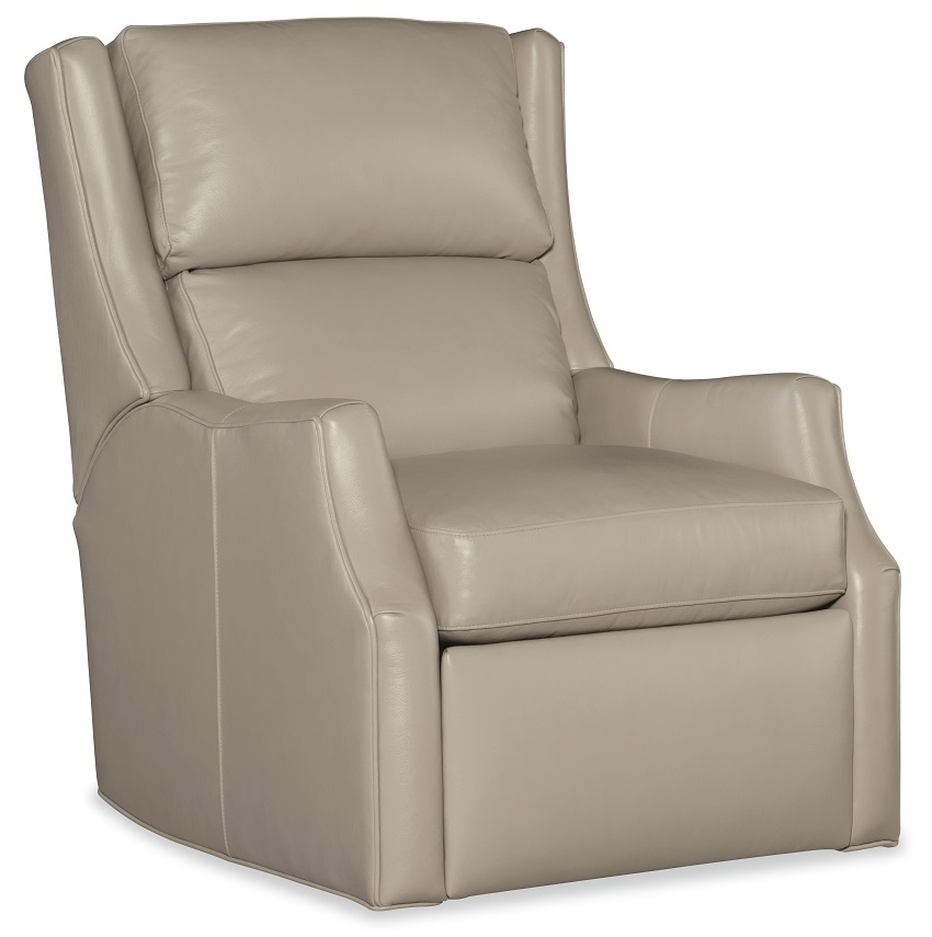 Thomas Leather Wall Hugger Power Recliner With Articulating Headrest