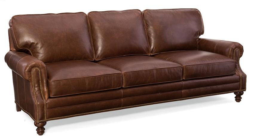 Aaron Leather Sofa