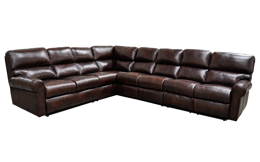 Reclining Leather Sectional Sofas Brookhaven Leather