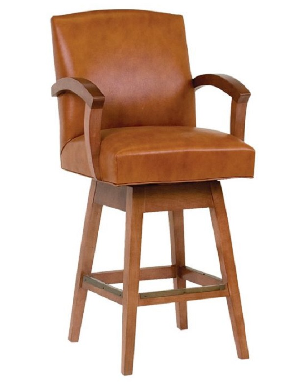Leather Bar Stools Contemporary Leather Bar Stool