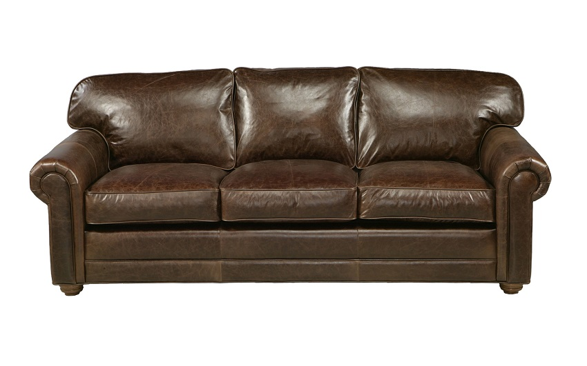 Leather Sleeper Sofas Dalton Leather Queen Size Sofa Sleeper