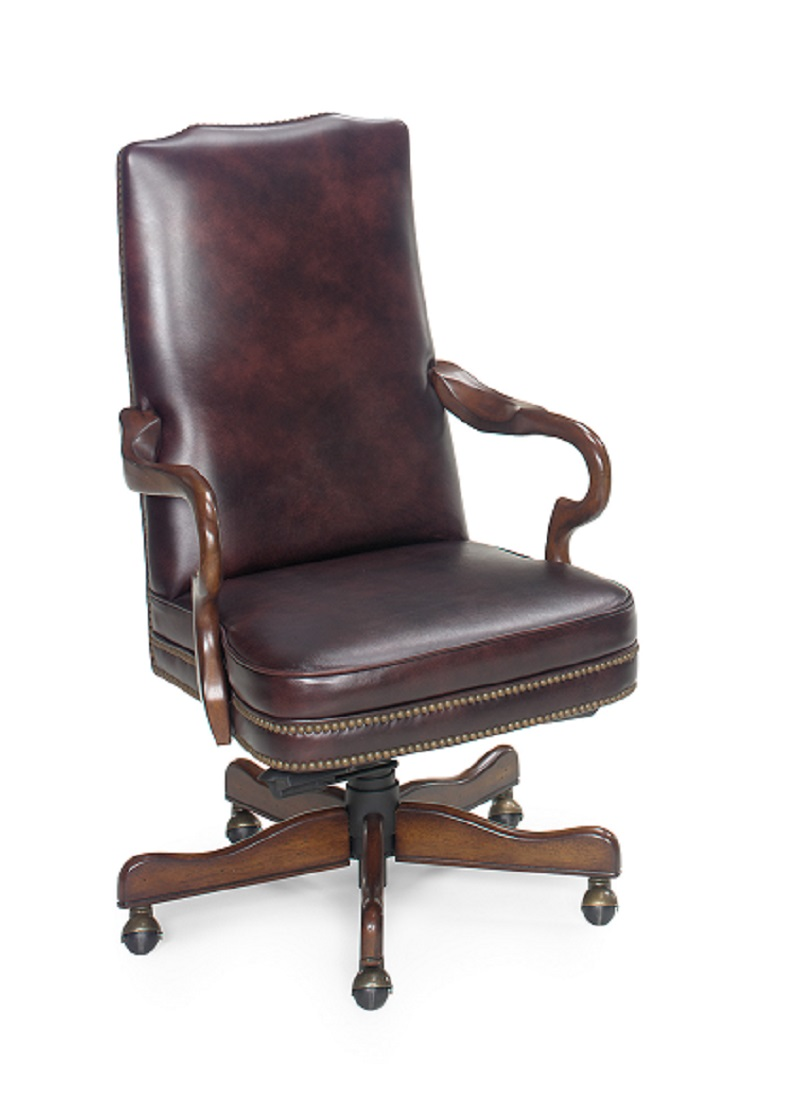 In stock leather furniture traditional leather executive for Traditional leather furniture