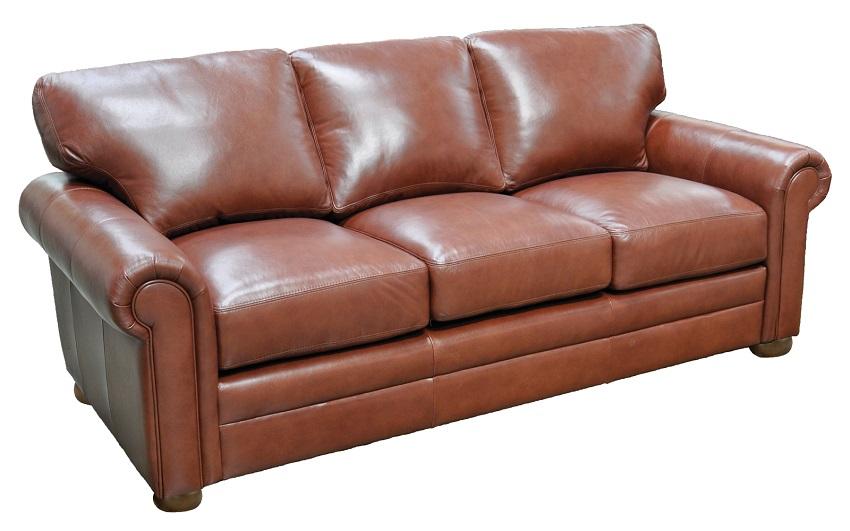 Leather Sleeper Sofas Georgia Leather Full Size Sofa Sleeper