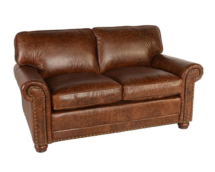 Sofas amp Loveseats Genesis Leather Loveseat