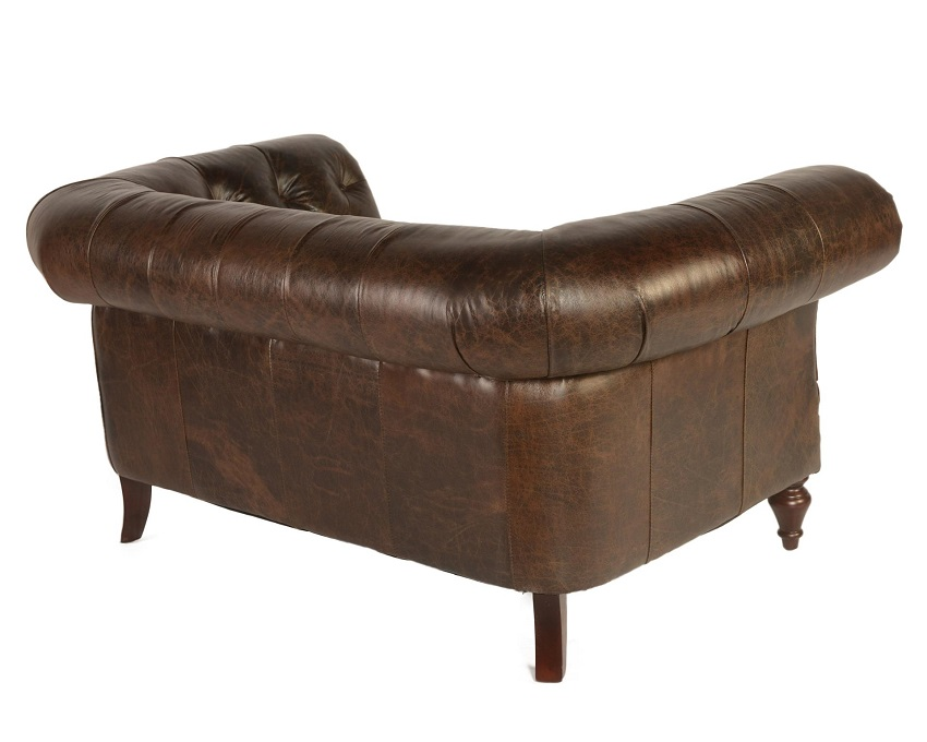 In Stock Leather Furniture Brooks Leather Loveseat