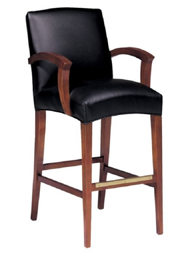 Leather Bar Stools Contemporary Leather Bar Stool : metro from fineleatherfurniture.com size 600 x 838 jpeg 58kB