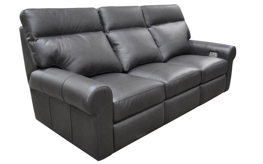 Brooklyn Leather Reclining Sofa