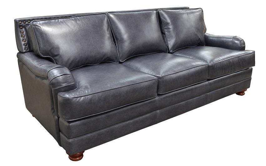 Leather Sleeper Sofas Pantera Leather Queen Size Sofa