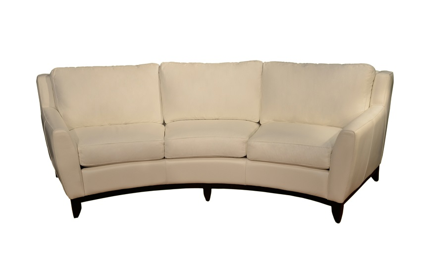 Conversation Sofas Pisa Leather Conversation Sofa